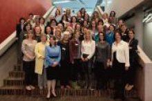 Gipfeltreffen der Schweizer Frauenorganisationen mit den Co-Präsidentinnen Maya Graf und Kathrin Bertschy von alliance F