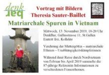 DenkBar: Theresia Sauter-Baillet über matriarchale Spuren in Vietnam