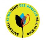 Kl!ma des Wandels: Nationale Klima-Demo am 28. September in Bern