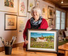 Kunstausstellung Lilly Langenegger im Stephanshorn