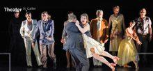 Theater St. Gallen: Geschichten aus dem Wienerwald und der Mann, der die Welt ass