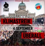 WE ARE BACK – Klimastreik am 4. September überall