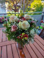 Bessere Löhne und Renten und Gleichstellung statt Blumen und Pralinés