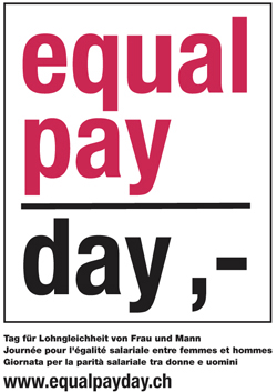 Frauen arbeiten immer noch 38 Arbeitstage länger für gleichen Lohn