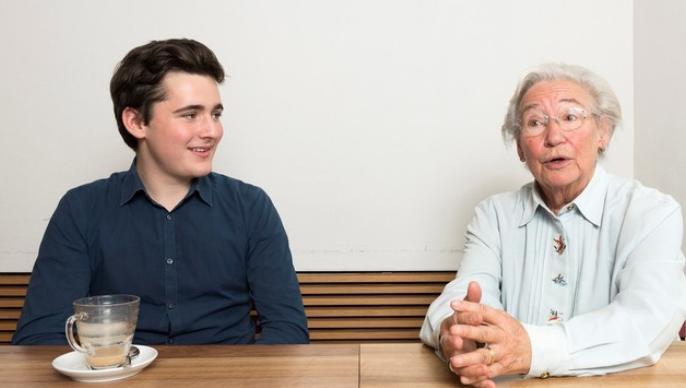Beide wollen in den Aargauer Grossen Rat Noa Haefeli (18) und Alice Bissegger (82). Sie stammt aus der Ostschweiz