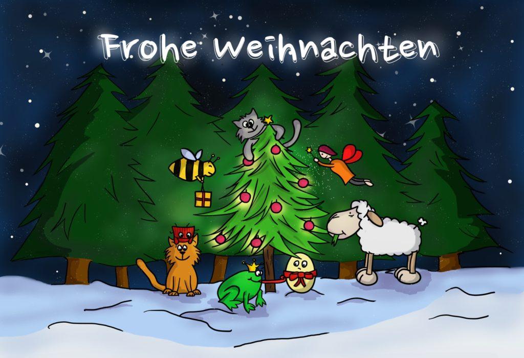 (Fast) weihnächtliche Geschichte – Wir wünschen frohe Festtage!
