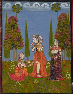Traumhafte Welten – Frauen  in der indischen Malerei