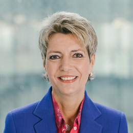 Karin Keller-Sutter wurde als Ständeratspräsidentin gewählt
