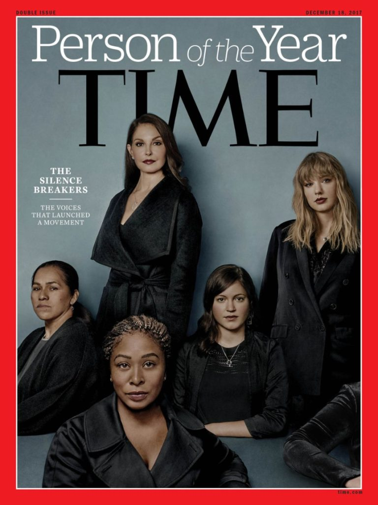 «The Silence Breakers» mit dem Hashtag #MeToo sind «Person(s) of the Year»