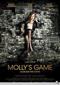 Filmtipp: Molly's Game – das Leben der «Pokerprinzessin» Molly Bloom