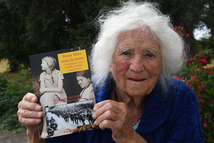 Geneviève Callerot – eine wahre Heldin wurde im Alter von 102 Jahren geehrt