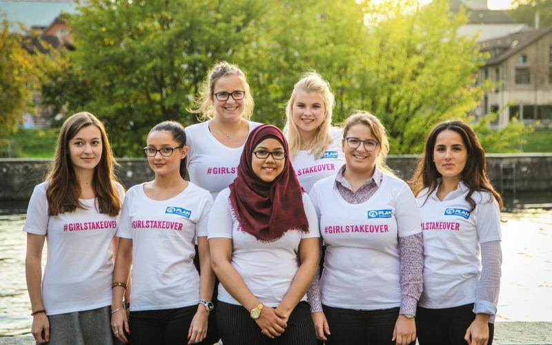 #GirlsTakeover #GirlsUnstoppable #BecauseIAmAGirl – Weltmädchentag am 11. Oktober