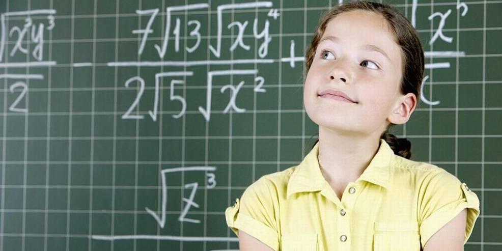 Mädchen können auch Mathematik-Genies sein – sie trauen es sich nur selten zu