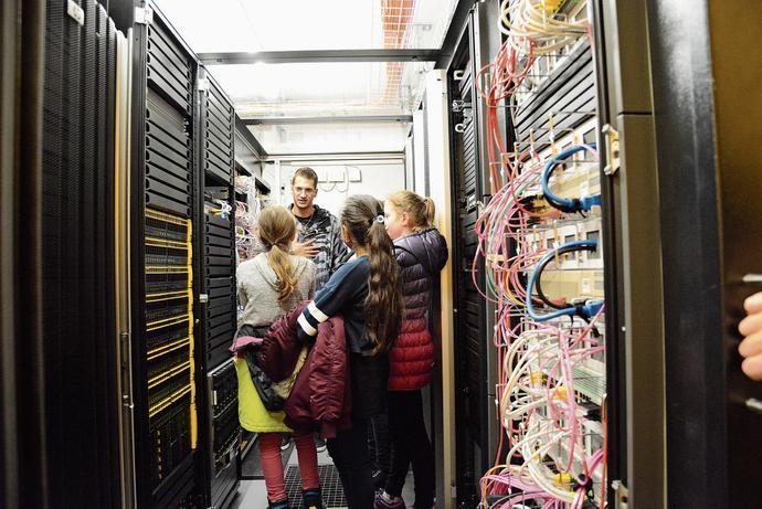«Mädchen – Informatik – los!» bei Appenzell Ausserrhoden Informatik ARI