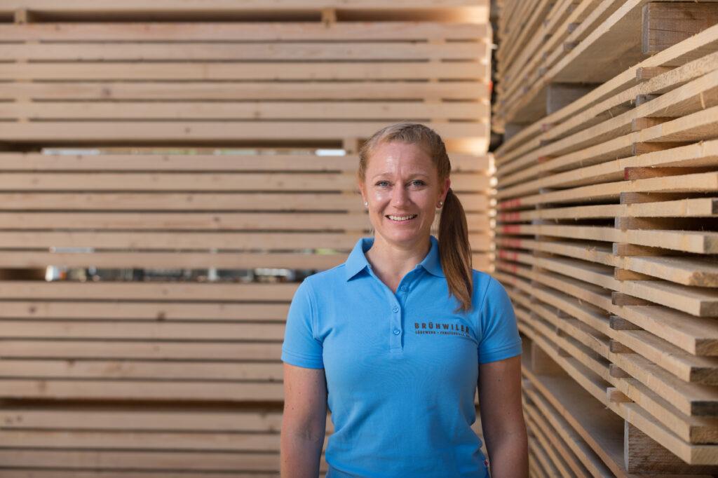 Holz-Unternehmerin Maria Brühwiler ist 7. Thurgauer KMU-Frau