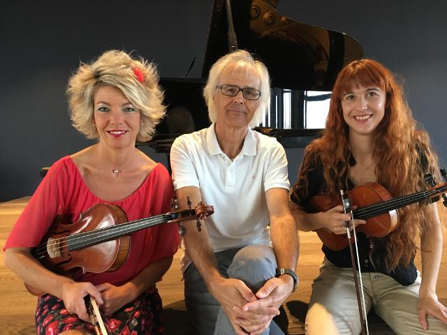 Musik und Poesie im Stadthaus mit dem Trio Ambiente und Schauspielerin Ursula Affolter