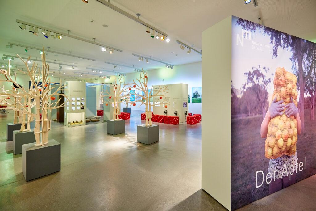 Es ist Apfelzeit – Sonderausstellung im Naturmuseum St. Gallen