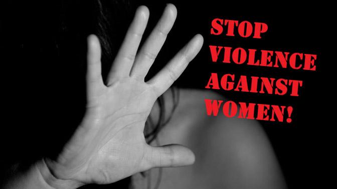 Orange Beleuchtung gegen Gewalt an Frauen im Alter