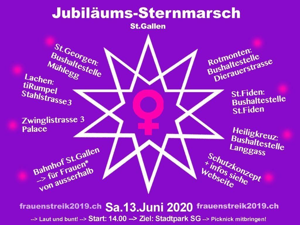 Der Frauen*streik geht am 13. Juni 2020 weiter!