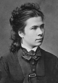 Nadeschda Suslowa, erste Frau mit Doktorwürde, von der Universität Zürich geehrt