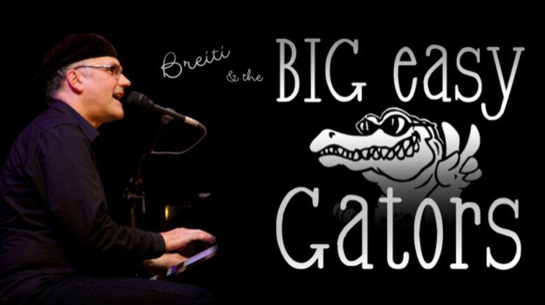 BREITI & THE BIG EASY GATORS an der Jazz Night in Rorschach