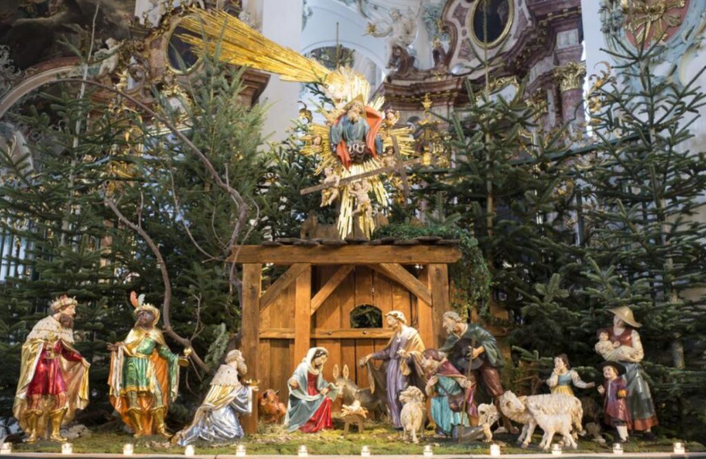 Weihnachten und Krippen aus der Schweiz, aus St. Gallen und dem Vorarlberg