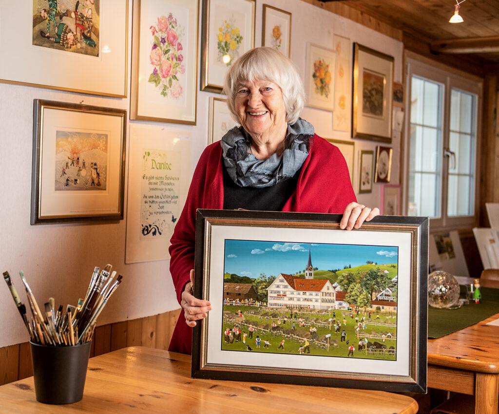 Da kommt Freude ins Haus – Lilly Langeneggers Werke werden im Stephanshorn ausgestellt