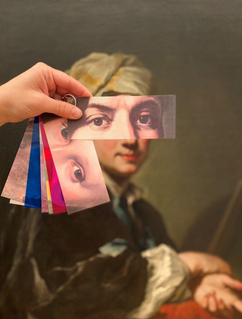"""Workshop """"Mehr sehen – Blicke auf die Kunst"""""""