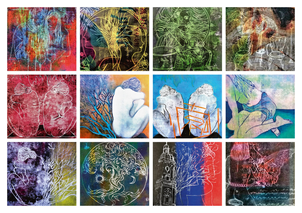 Allerlei Malerei – Bilder der Künstlerin Alexandra Oestvold