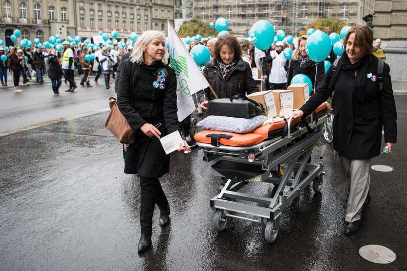 Abstimmung vom 28. November 2021: Sympathiewelle für das Pflegepersonal